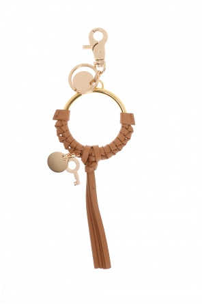 Key ring with metal loop od See By Chloe