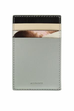 'clip' card case with logo od AllSaints