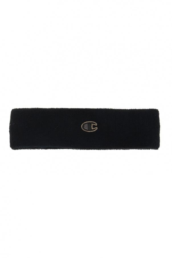 Rick Owens Logo-embroidered headband