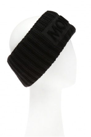 Braided headband with logo od Moncler
