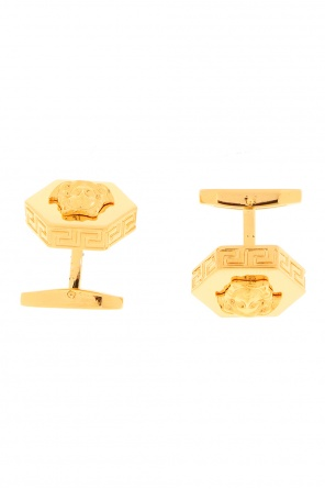 Hexagonal cuff links od Versace