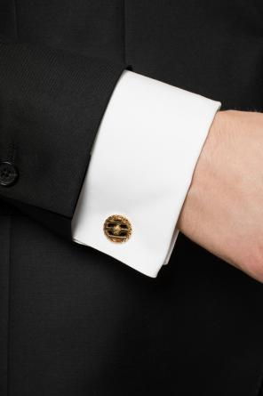 Medusa head cuff links od Versace