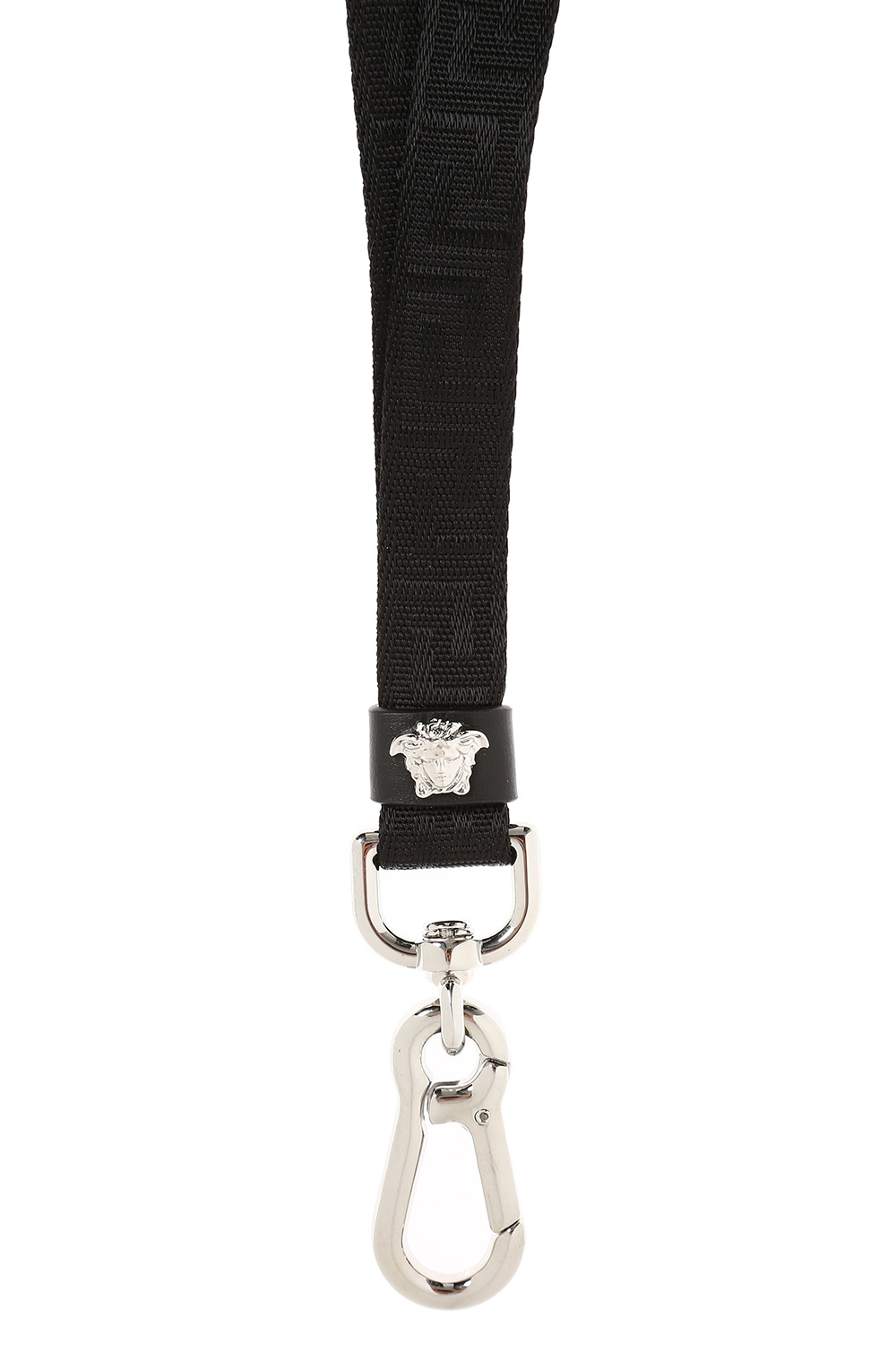 Versace Embroidered key lanyard