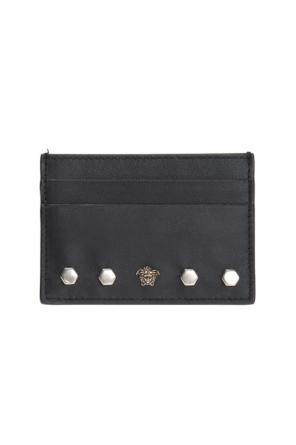Studded card case od Versace