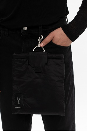 Pouch with lobster clasp od Rick Owens DRKSHDW