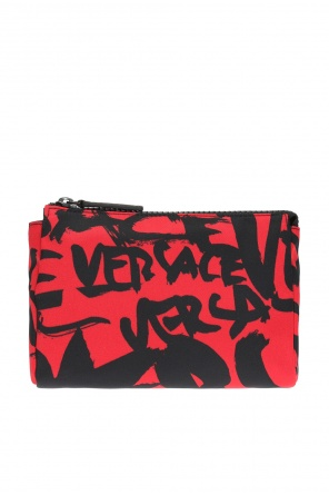 Patterned wash bag od Versace