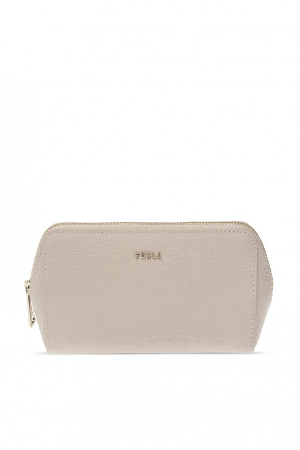 Furla Logo wash bag
