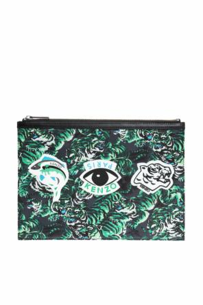 Patched patterned clutch od Kenzo