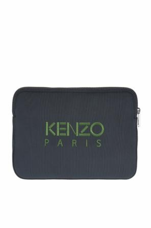 Embroidered tiger head tablet case od Kenzo
