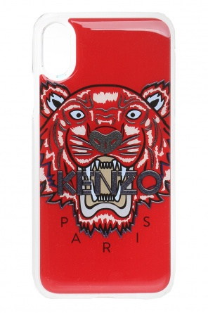 Iphone x case with a tiger's head motif od Kenzo