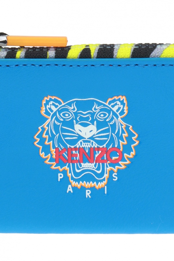 3c387a96 Tiger head motif card case Kenzo - Vitkac shop online