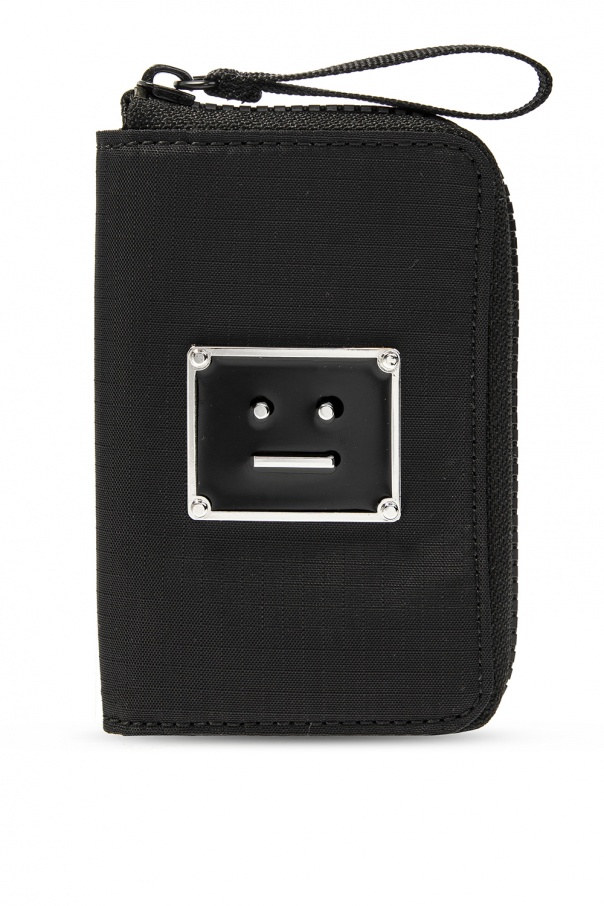 Acne Wallet with logo