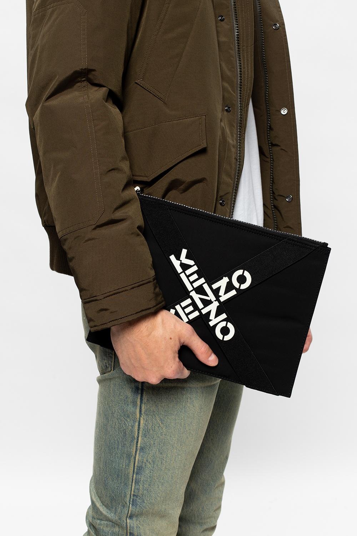 Kenzo Clutch with logo