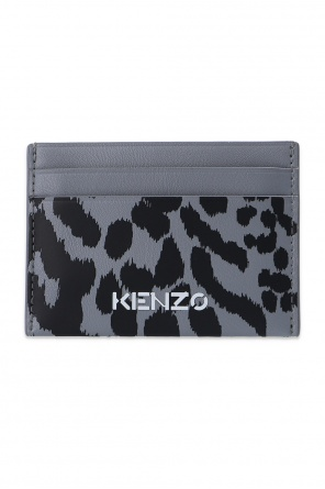 Animal-printed card case od Kenzo