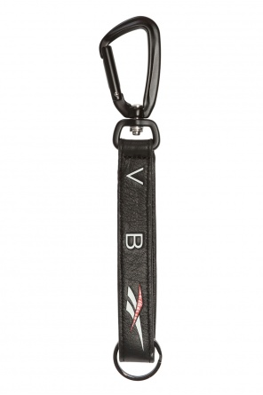 Key ring with leather strap od Reebok x Victoria Beckham