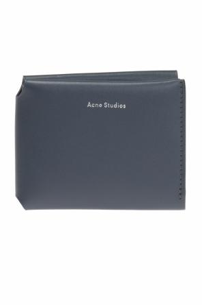 Bi-fold wallet with logo od Acne