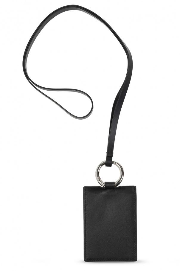 Acne Studios Leather card case