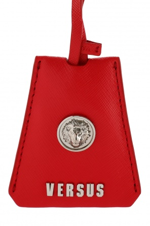 Leather key ring od Versace
