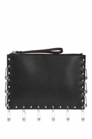Clutch with safety-pins od Versace