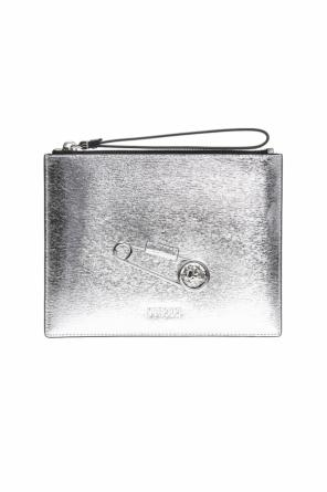 Metal safety-pin clutch od Versace Versus