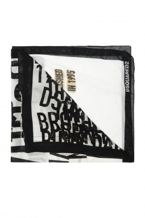 Patterned scarf od Dsquared2
