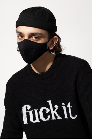 Mask with logo od Golden Goose