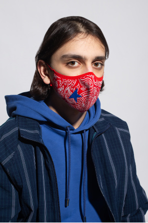 Patterned face mask od Golden Goose