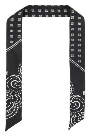 Silk scarf with logo od Givenchy
