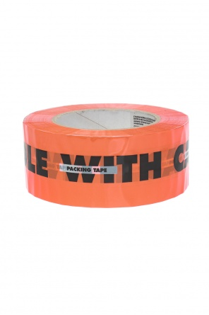 Logo-printed tape od Heron Preston
