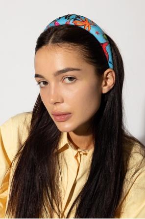 Headband with logo od Versace