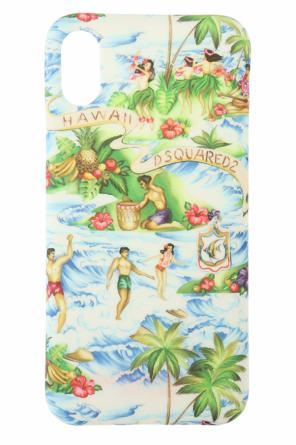 Printed iphone x case od Dsquared2