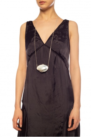 Locket necklace od JIL SANDER