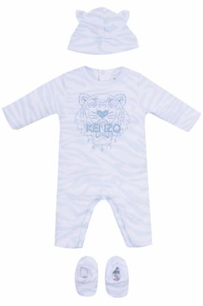Set: onesie, hat and socks od Kenzo Kids