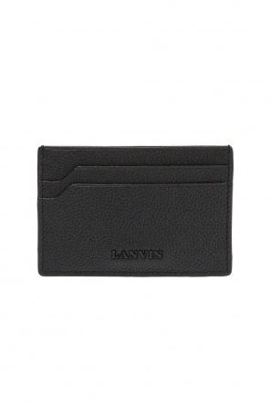 Leather card case od Lanvin