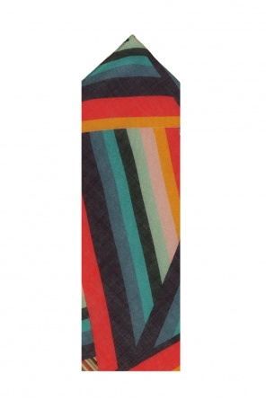 Handkerchief with a striped, printed pattern od Paul Smith