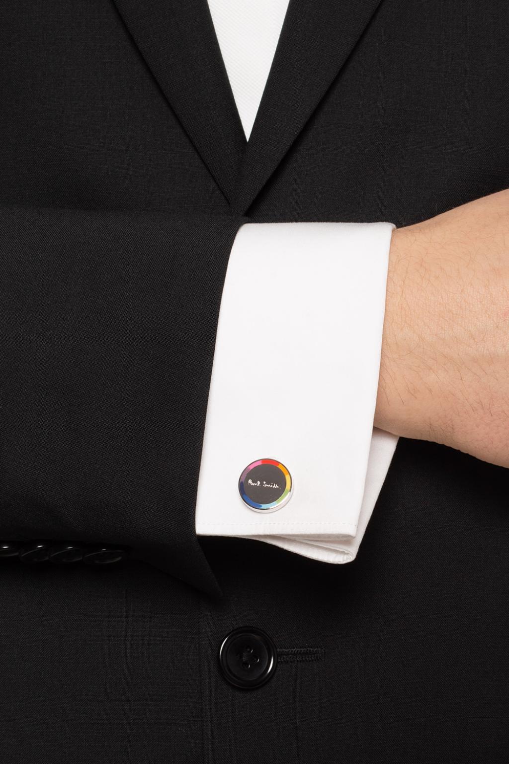 Paul Smith Logo cufflinks