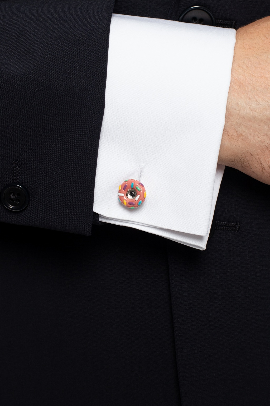 Paul Smith Donut cuff links