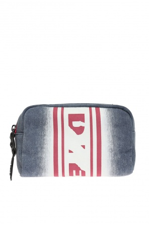 Mirr-her' cosmetics bag with a logo od Diesel