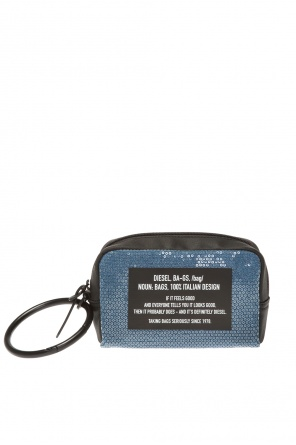 Pouch with metal loop od Diesel