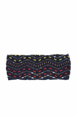 Embroidered head band od Missoni