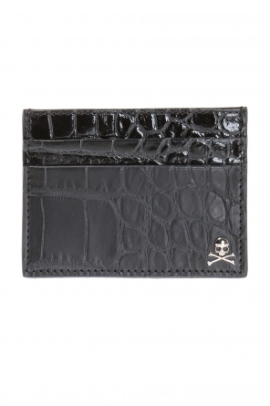 Card case with metal skull od Philipp Plein