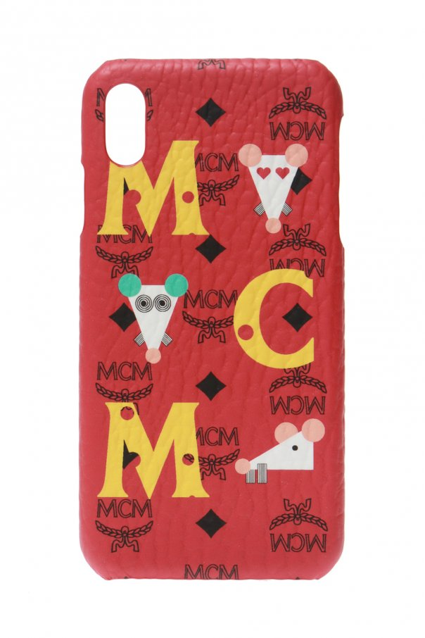 MCM iPhone XS Max case
