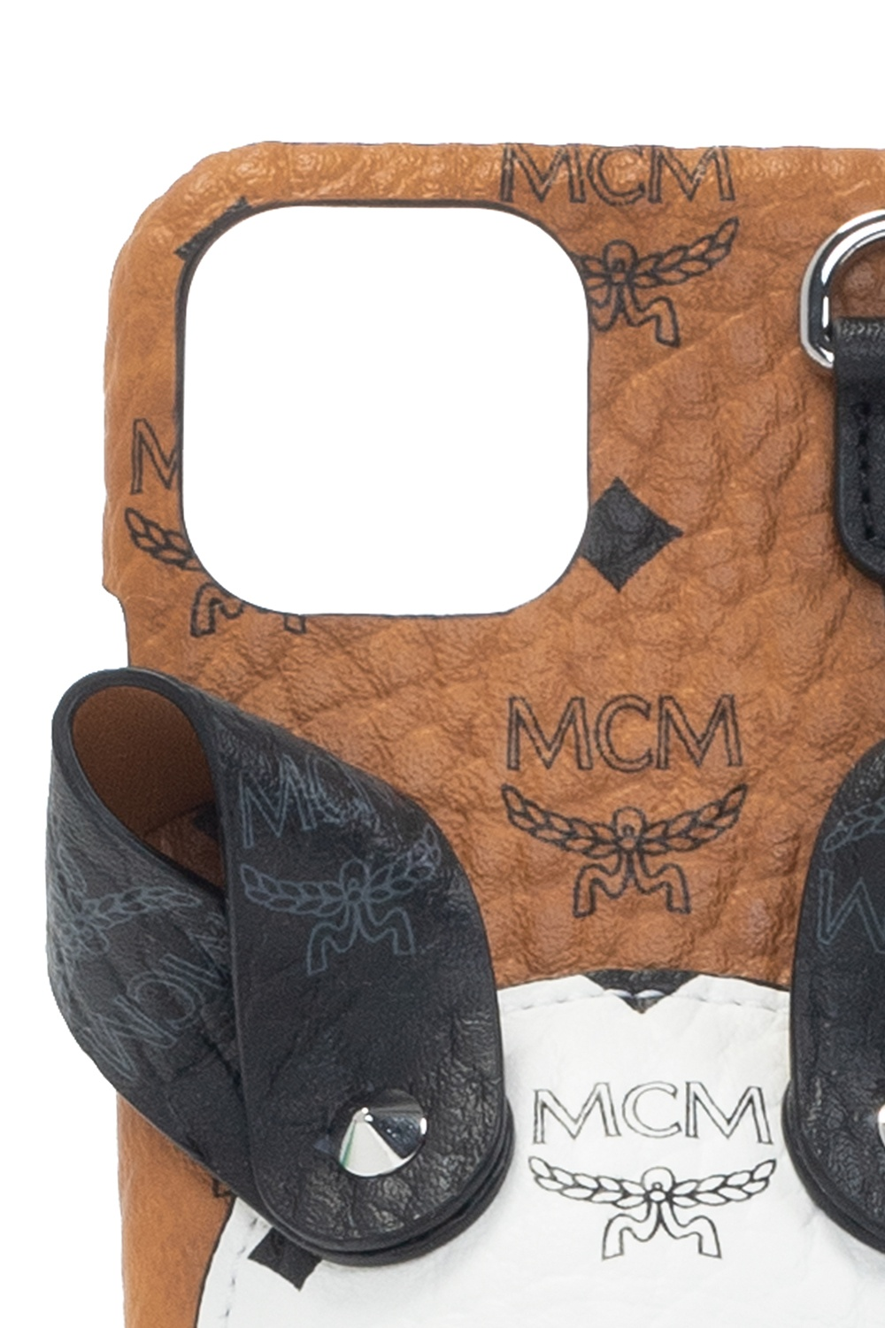MCM Strapped iPhone XS case