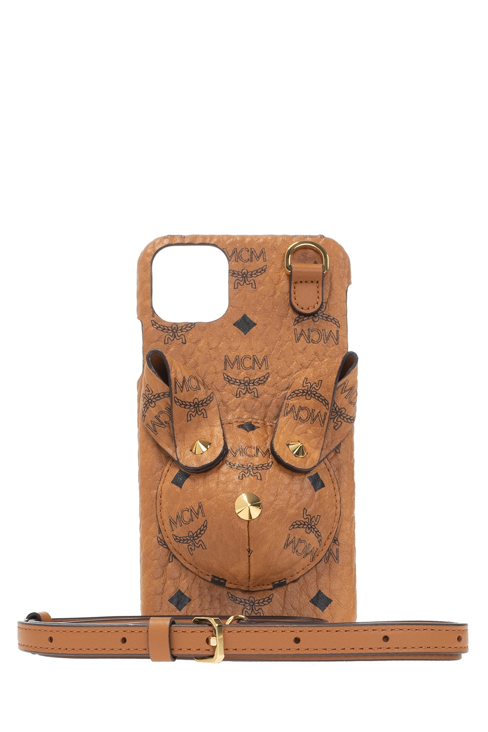 MCM Strapped iPhone 11 Pro Max case