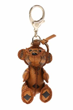Bear-shaped keyring od MCM