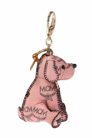 Dog-shaped keyring od MCM