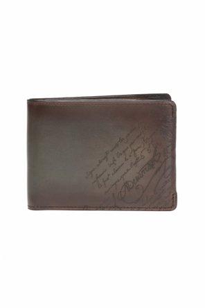 e6584f83e7c16 Składany portfel z nadrukiem od Berluti Składany portfel z nadrukiem od  Berluti