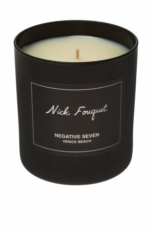 'negative seven' scent candle od Nick Fouquet