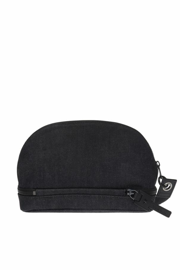 Logo-printed wash bag od Diesel
