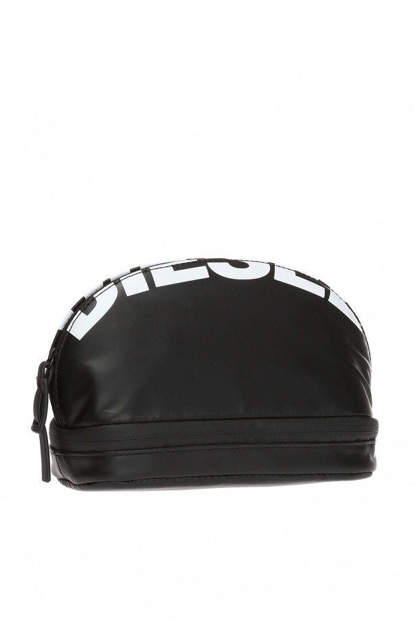 'new d-easy' wash bag with logo od Diesel